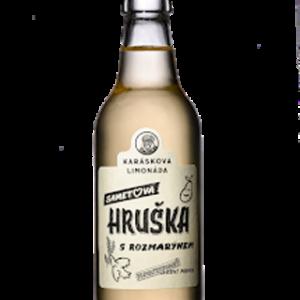 Karáskova Limonáda Hruška s Rozmarýnem – 0,33l