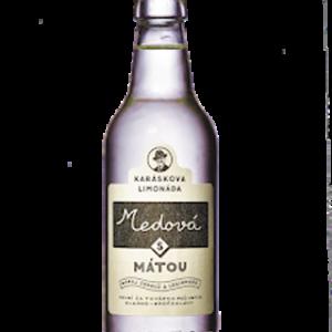 Karáskova Limonáda Medová s Mátou – 0,33l
