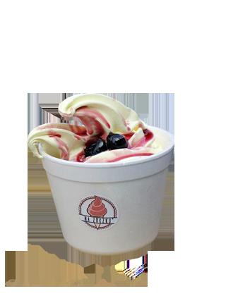 Ledová ovocná tříšť – Jahoda a Banán  – 400ml