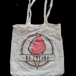 Bavlněná taška NA ZMRZKU  – 1ks